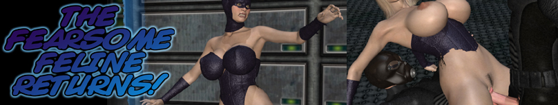 superheroine in peril - forced to climax
